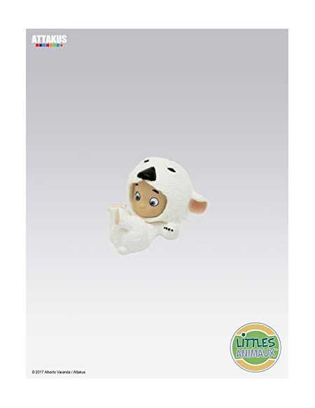 Attakus Collection- Figurine Little Ours Polaire Goodies, LIT04, Polychrome