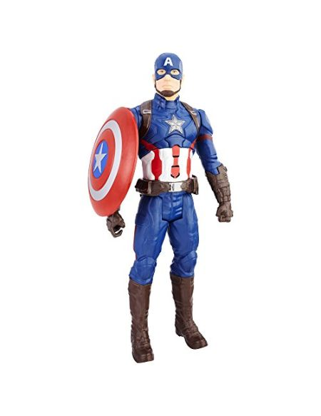 Marvel Avengers - C2163 - Figurine Electronique - Captain America - Titan 30 cm
