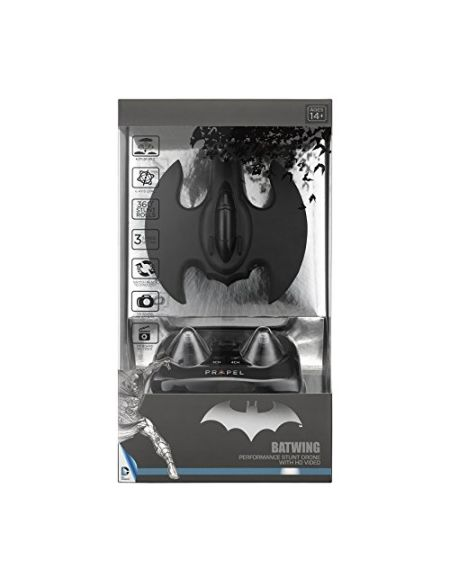 Propel DC Comics Batman Micro Drone Batwing Video HD - Noir