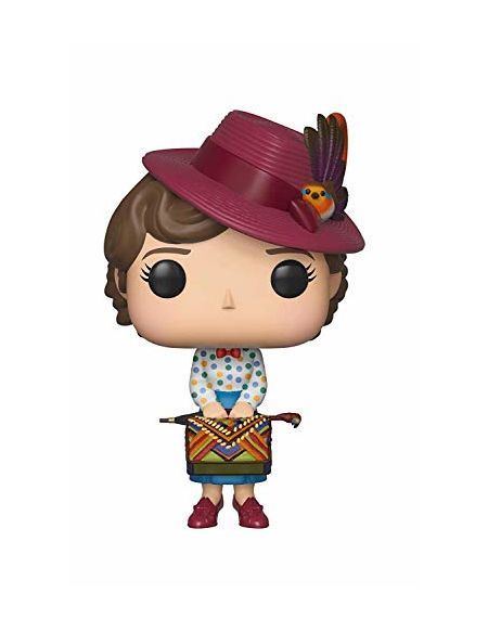 Funko- Figurines Pop Vinyl: Disney Poppins: Mary with Bag Collectible Figure, 33907, Multicolour, Taille Unique