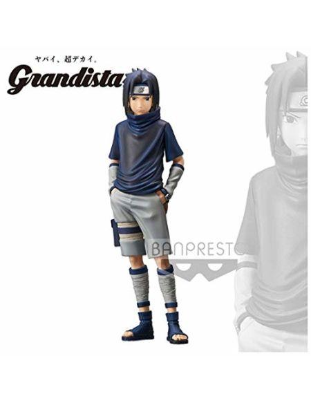 Figurine - Naruto - Grandista Shinobi Relations - Uchiha Sasuke 24 cm
