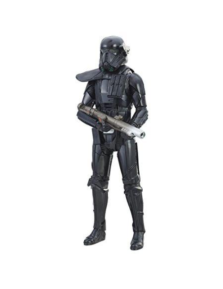 Star Wars C1580EL2 Rogue One Figurine électronique Duel Imperial Death Trooper