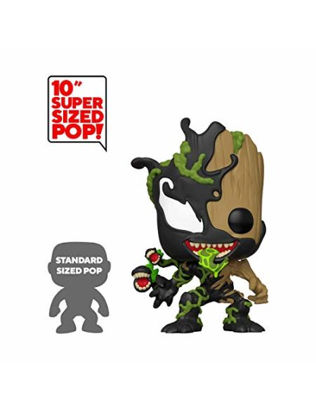 Figurine Funko Pop Marvel Groot Venomisé Venin Maximum