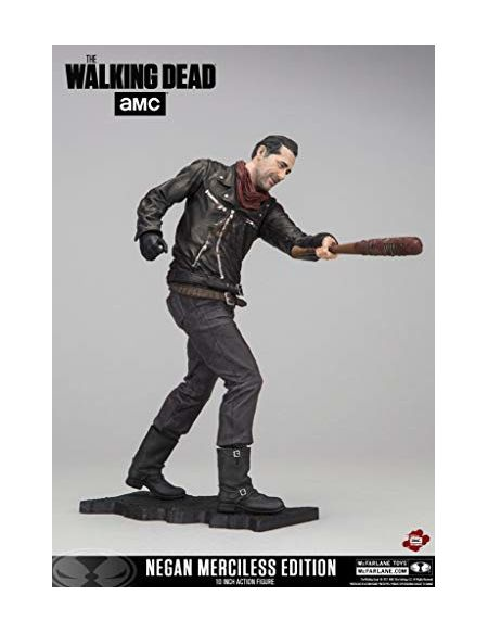 The Walking Dead Figurine série télévisée Negan Merciless Edition