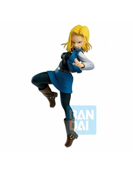 Figurine - DBZ - The Android Battle with DBZ Fighters - Android 18