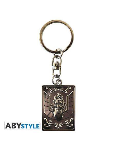 "ABYstyle - SAINT SEIYA - Porte-clés ""emblème Pégase"""