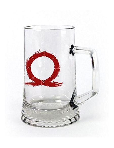 "God of War Verre à bière ""Serpent"""