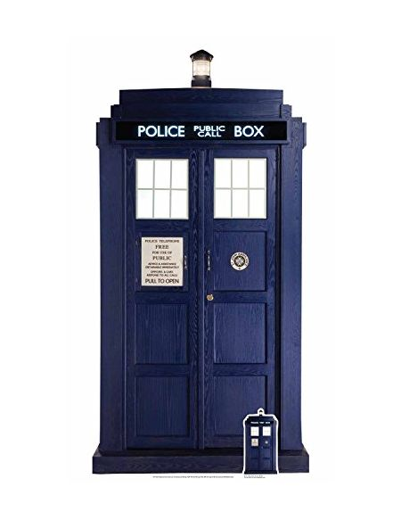 Star cutouts - Stsc195 - Figurine Géante - The Tardis - Doctor Who - 192 X 97 Cm
