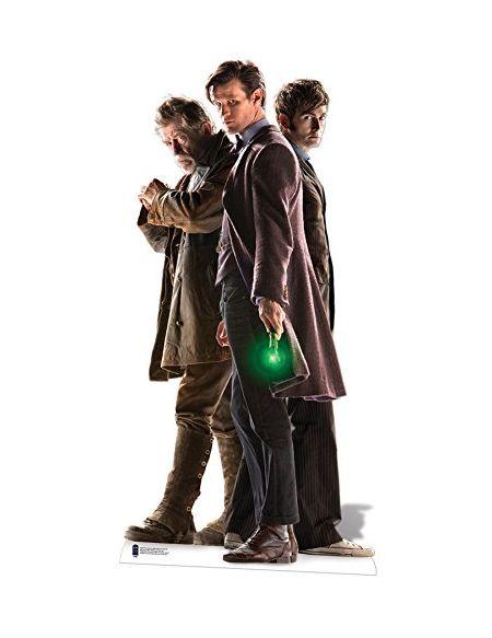 Star cutouts - Stsc705 - Figurine Géante - Les 3 Docteurs - Doctor Who - 183Cm