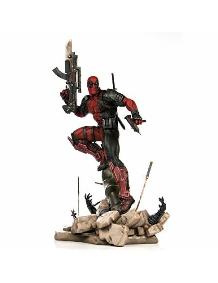 Semic Distribution- Deadpool Figurine, SPZDP001