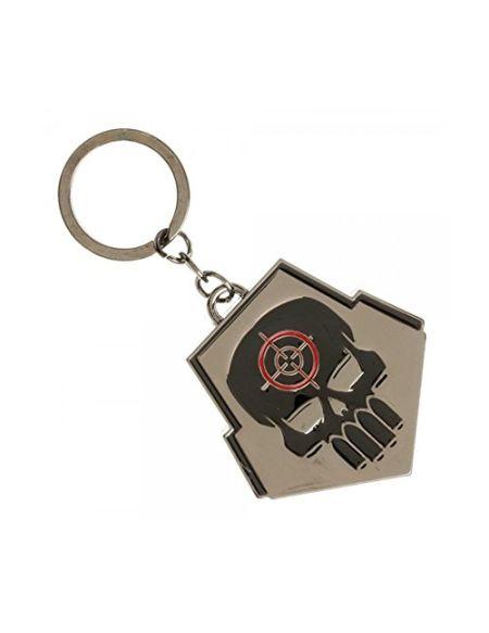 Suicide Squad Porte-clés, Gris (Gris) - BWI-KE44YWSSQ