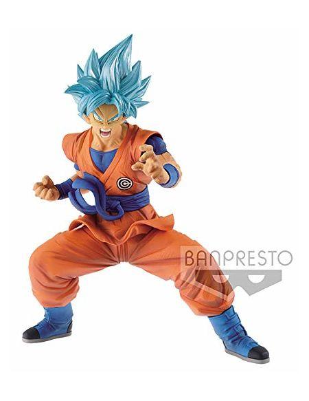 Figurine 23 cm - Dragon Ball - Son Goky Blue Super Saiyan