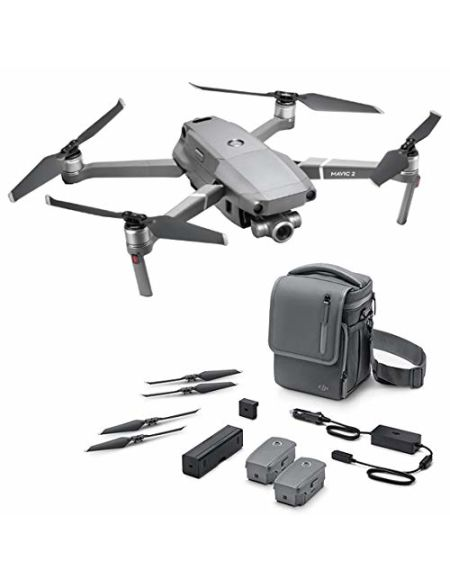 "DJI Mavic 2 Zoom Fly More Kit, drone Quadrocopter avec zoom optique 24-48mm, capteur CMOS 12MP 1/2.3"" (version UE)"