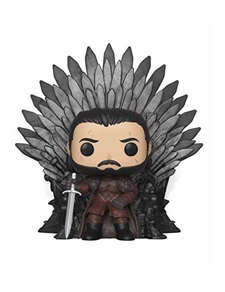 Figurine Pop! Deluxe Jon Snow sur le Trône de Fer - Game of Thrones