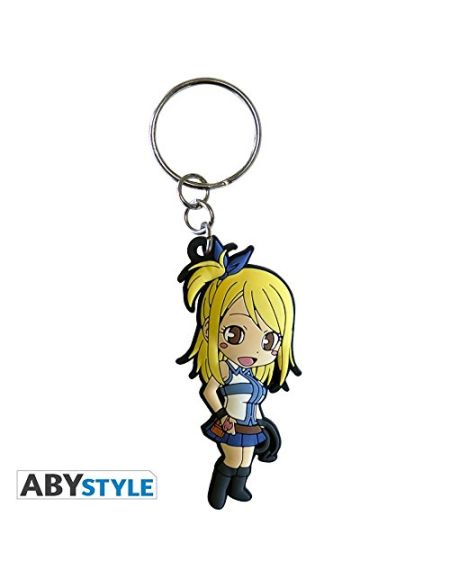 "ABYstyle - FAIRY TAIL - Porte-clés PVC ""Lucy"""