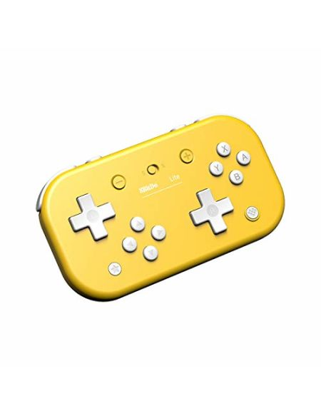 Manette Bluetooth pour Switch Lite/Switch/Windows - jaune