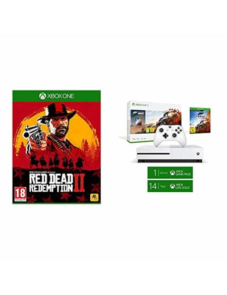 Pack Xbox One S 1 To - Forza Horizon 4 + Red Dead Redemption 2