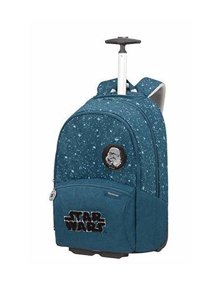Samsonite Color Funtime Disney Sac à Dos à Roulettes, 51 cm, 26 L, Bleu (Star Wars Intergalactic)