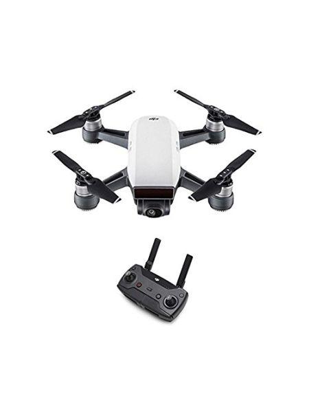 DJI Spark (Version UE) + Radiocommande - Quadricoptère avec Caméra | Mini Drone | Offre 16-Min de Vol | Caméra Haute Performance pour Photos & Vidéos | Contôle Simple | Transmission Vidéo Wi-Fi HD