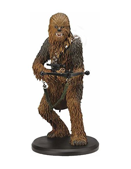 Attakus Collection- Chewbacca Figurine de Collection, SW032, Polychrome
