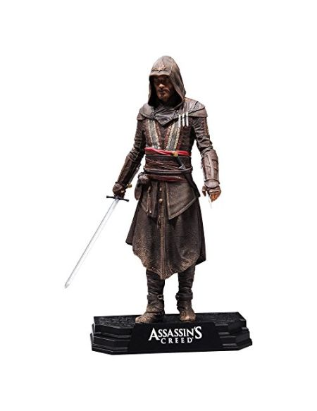 Assassins Creed 81071 Movie Aguilar Couleur Tops Figure, 17,8 cm