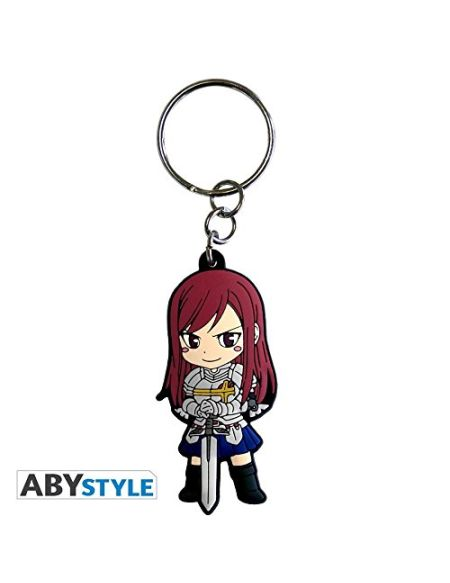 "ABYstyle - FAIRY TAIL - Porte-clés PVC ""Erza"""
