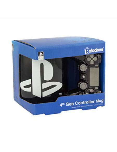 Paladone PP5853PS Tasse à thé ou café en céramique avec manette de Playstation 4ème génération sous licence officielle