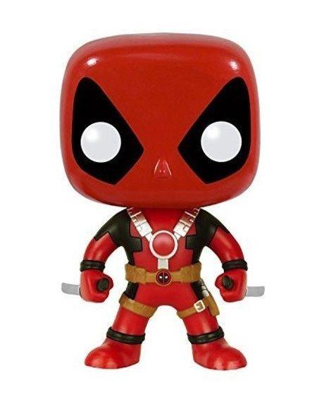 Figurine Pop! Deadpool Deux Épées Marvel