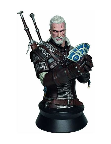 Witcher 3 - Wild Hunt: Geralt Playing Gwent Bust (Relaunch)