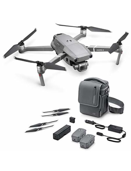 """DJI Mavic 2 Pro Fly More Combo - Kit Drone (Caméra Hasselblad, Vídeo 4K HDR, Capteur CMOS de 1"""" y 20 Mpx, 3 Batterie, Chargeur de batterie, 10 hélices etc.)"""