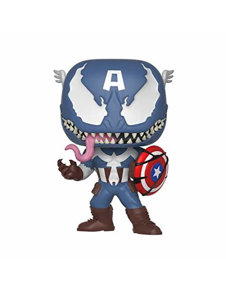 Figurine Pop! Captain America Venomisé - Marvel