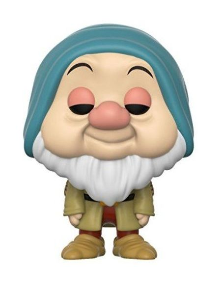 Funko- Figurines Pop Vinyle: Disney: Snow White: Sleepy, 21724
