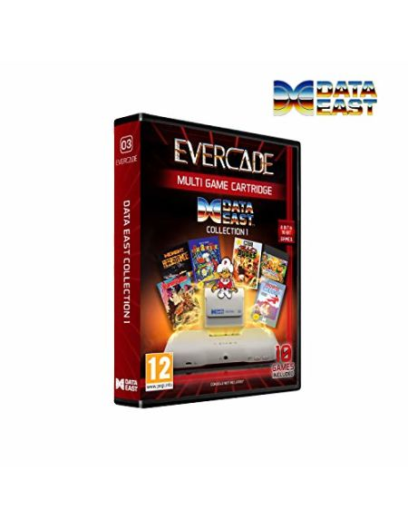 Blaze Evercade Data East Cartridge 1