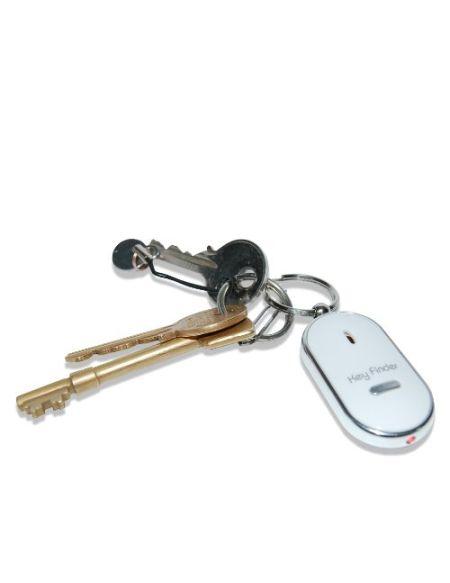 thumbs Up! - Porte-clef sifleur - Localisateur de trousseau - blanc - signal sonore - 0000949