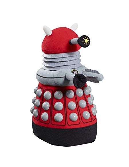 Doctor Who Dalek Deluxe Talking en Peluche (Rouge)