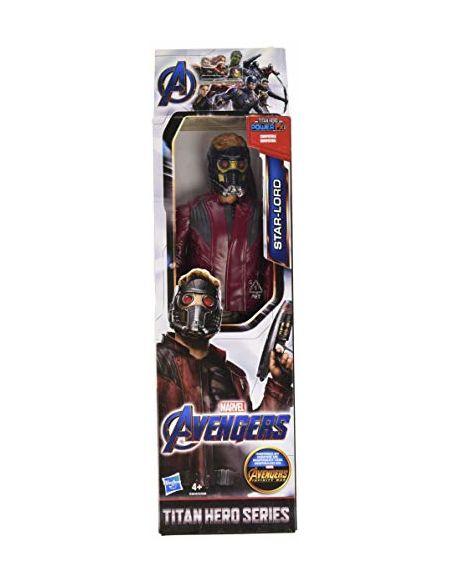 Marvel Avengers - Figurine Marvel Avengers Endgame Titan - Star Lord - 30 cm - Jouet Avengers