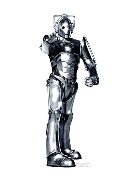 Star cutouts - Stsc10 - Figurine Géante - Cyberman - Doctor Who - 191 Cm