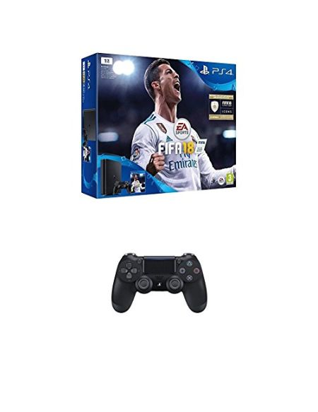 Pack PS4 1To + FIFA 18 + 2ème manette