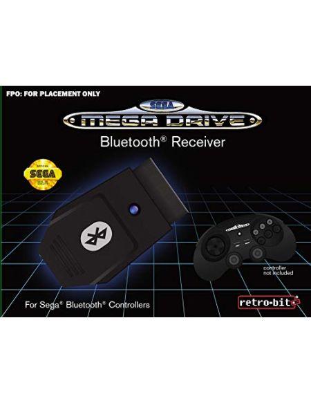 Retrobit - SEGA Mega Drive Receveur Bluetooth pour port manette d'origine