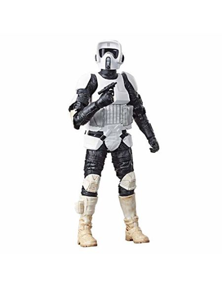 Star Wars - Edition Collector - Figurine Black Series Scout Trooper - 15 cm