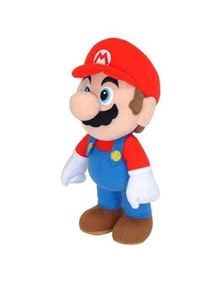Super Mario Gmsm6p01marionew Bros–Licence Officielle Nintendo 24cm Mario en Peluche