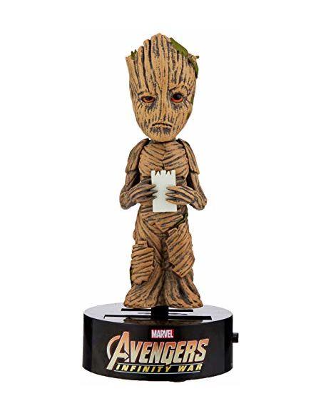Figurine Solaire Groot Avengers: Infinity War NECA Body Knocker