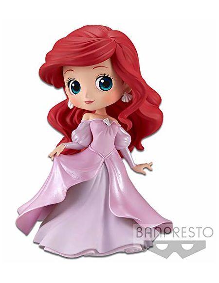 Disney – Figurine Banpresto Q Posket – La Petite sirène – Ariel – 14cm (Pink dress)