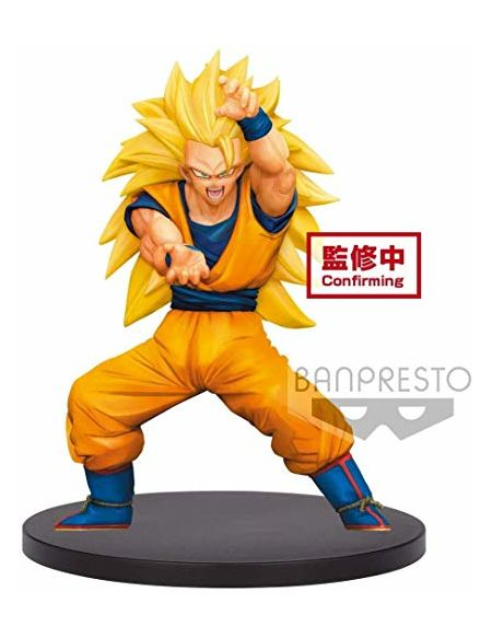 Dragon Ball Super Figurine Son Goku Super Saiyan 3 Chosenshi Retsuden Vol.4 - Banpresto