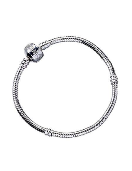 HARRY POTTER Bracelet en métal argenté de 17 cm sur Carte de Cuisson.