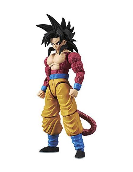 BANDAI- Figure-Rise Dragon Ball Z Super Saiyan 4 Goku Model Kit, 4549660144977, Multicolore