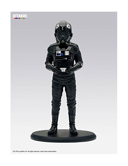Attakus Collection- TIE Fighter Pilot Figurine de Collection, SW031, Polychrome
