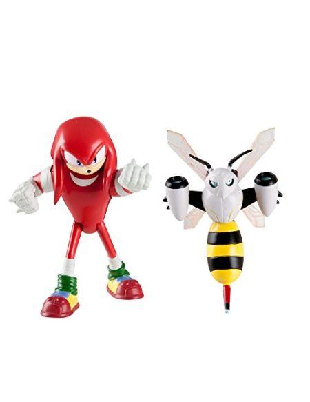 Sonic Boom–Knuckles Le hérisson et Beebot Figurines articulées 7,6cm Lot de 2