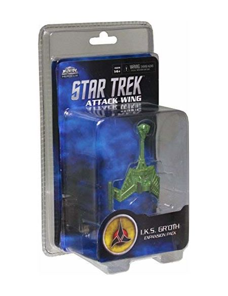 WizKids Star Trek Attaque Aile Expansion I.k.s. Groth - version anglaise