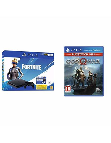 Pack PlayStation : PS4 Slim 500 Go Noire + God of War PlayStation Hits